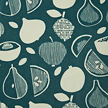 Buy John Lewis Scandi Fruits Wipe Clean Tablecloth, Dia.180cm Online at johnlewis.com