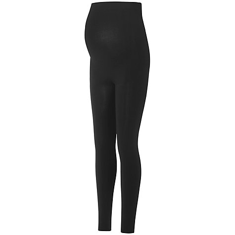 Buy Séraphine Tammy Active Bamboo Maternity Leggings, Black Online at johnlewis.com