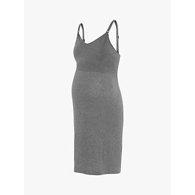 Product photo of S raphine georgia seamless maternity nightdress grey marl
