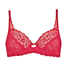 Buy Triumph Amourette Spotlight Underwired Full Cup Bra Online at johnlewis.com