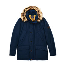Buy Gant Mountaineer Parka Coat, Dark Blue Online at johnlewis.com