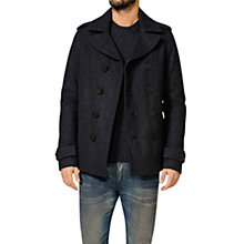 Buy Diesel W-Dash Jacket, Dark Charcoal Online at johnlewis.com