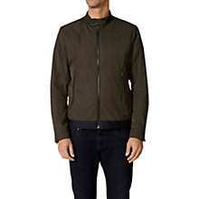 Buy Diesel Dash Hollis Reversible Jacket, Dark Khaki Online at johnlewis.com