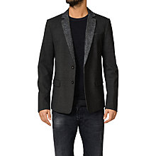 Buy Diesel J-Punch Blazer, Charcoal Online at johnlewis.com
