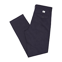 Buy Fred Perry Classic Twill Cotton Chinos, Navy Online at johnlewis.com