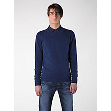 Buy Diesel K-Manik Plain Crew Neck Jumper Online at johnlewis.com