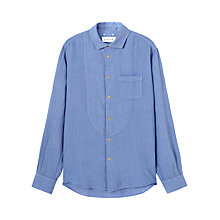 Buy Jigsaw Garment Dye Cotton Long Sleeve Shirt Online at johnlewis.com