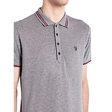 Buy Diesel T-Nox Polo Shirt, Grey Online at johnlewis.com