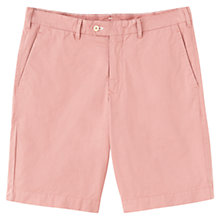 Buy Jigsaw Cotton Twill Flat Front Shorts Online at johnlewis.com