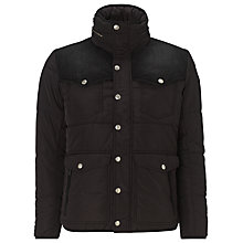 Buy Diesel Wessien Puffer Jacket, Black Online at johnlewis.com