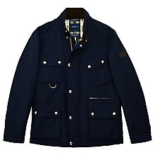 Buy Gant Rider Four Pocket Jacket, Dark Blue Online at johnlewis.com