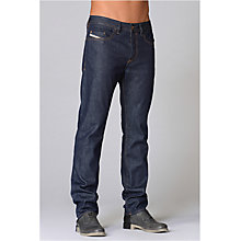 Buy Diesel Buster Selvedge 60N Tapered Jeans, Dark Wash Online at johnlewis.com