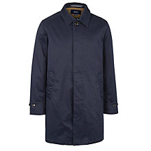 Buy Gant Classic Cotton Raincoat, Navy Online at johnlewis.com