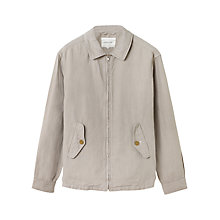 Buy Jigsaw Linen and Cotton Full Zip Jacket Online at johnlewis.com