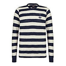 Buy Diesel Colty Striped Cotton Sweatshirt Online at johnlewis.com