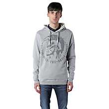 Buy Diesel Suzanne Felpa Mohawk Hooded Jersey Top Online at johnlewis.com