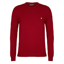 Buy Lyle & Scott Garter Stitch Jumper Online at johnlewis.com