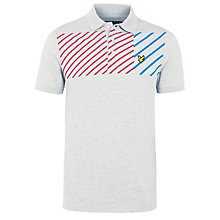 Buy Lyle & Scott Asymmetric Print Polo Shirt Online at johnlewis.com