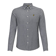 Buy Lyle and Scott Gingham Shirt Online at johnlewis.com
