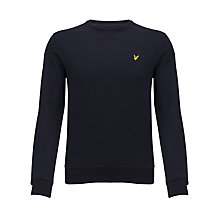 Buy Lyle & Scott Crew-Neck Cotton Sweatshirt Online at johnlewis.com
