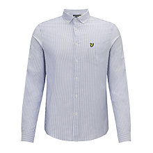 Buy Lyle & Scott Oxford Stripe Long Sleeve Shirt, Riviera Online at johnlewis.com
