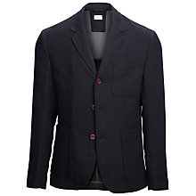 Buy Selected Homme Sibley Slim Fit Wool Blazer, Navy Online at johnlewis.com