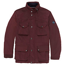 Buy Hackett Velospeed Jacket, Wine Online at johnlewis.com