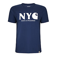 Buy Carhartt New York City Crew Neck T-Shirt Online at johnlewis.com