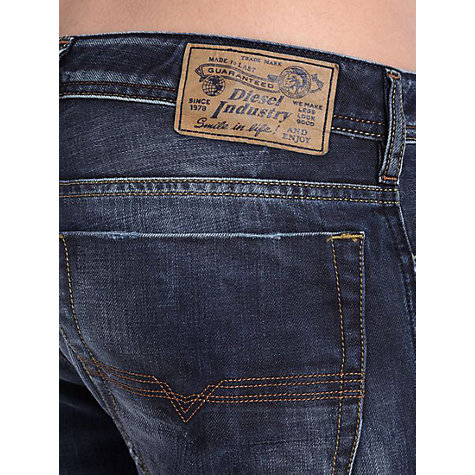 Buy Diesel Zatiny Bootcut Jeans, Dark Wash Online at johnlewis.com