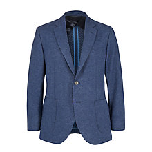 Buy Hackett London Double Faced Wool Blazer, Navy Online at johnlewis.com