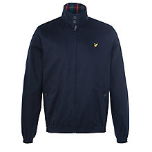 Buy Lyle & Scott Harrington Pure Cotton Jacket, New Navy Online at johnlewis.com