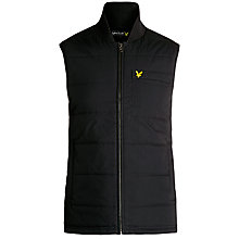 Buy Lyle & Scott Golf Gilet, New Navy Online at johnlewis.com