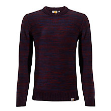 Buy Carhartt Accent Lambswool Jumper, Jupiter Heather Online at johnlewis.com
