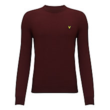 Buy Lyle and Scott Solid Merino Wool Jumper Online at johnlewis.com