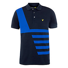 Buy Lyle & Scott Engineered Print T-Shirt, New Navy Online at johnlewis.com