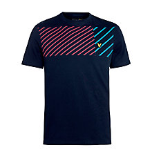 Buy Lyle & Scott Asymmetric Print Crew Neck T-Shirt Online at johnlewis.com