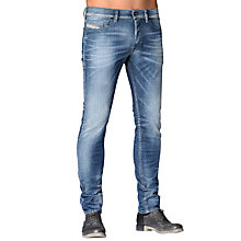 Buy Diesel Tepphar Slim Fit Stretch Cotton Jeans, Light Vintage Online at johnlewis.com