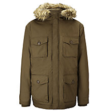 Buy Selected Homme Parka Jacket, Beech Online at johnlewis.com