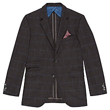 Buy Hackett London Country Deco Blazer, Grey Online at johnlewis.com