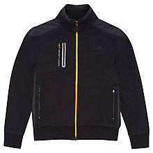 Buy Hackett London Aston Martin Funnel Full Zip Jacket, Black Online at johnlewis.com