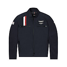 Buy Hackett London Aston Martin Stripe Detail Jacket, Navy Online at johnlewis.com