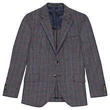 Buy Hackett London Multi Check Jacket, Grey Online at johnlewis.com