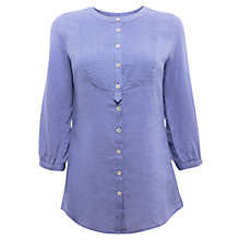 Buy East Pintuck Yoke Shirt, Lavender Online at johnlewis.com