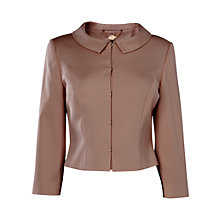 Buy Phase Eight Alice Jacket, Praline Online at johnlewis.com