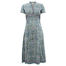 Buy East Ballamy Print Dress, Duck Egg Online at johnlewis.com