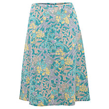 Buy East Hamilton Print Skirt, Stone Online at johnlewis.com