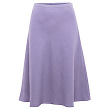 Buy East Victoire Linen Skirt, Lavender Online at johnlewis.com