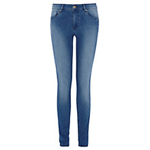 Buy Warehouse Superfit Skinny Jeans, Indigo Denim Online at johnlewis.com