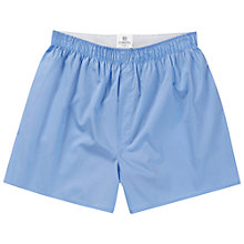 Buy Sunspel Classic Boxer Shorts, Blue Online at johnlewis.com