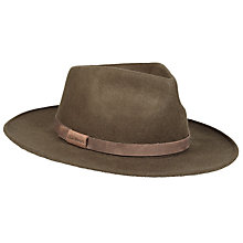 Buy Barbour Crushable Bushman Hat, Olive Online at johnlewis.com